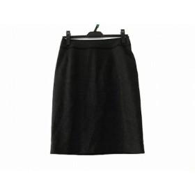 【中古】 ナラカミーチェ NARACAMICIE スカート サイズ1 S レディース 美品 ダークグレー