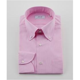 [シャツ]ダブルエイチ ドレスシャツ HH8S-B-029 ピンクチェック 42-86