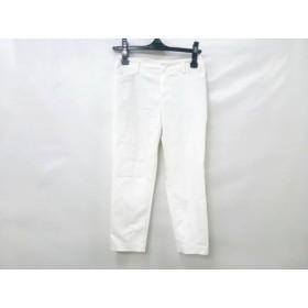 【中古】 アールユー ru パンツ サイズSS XS レディース ホワイト