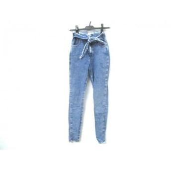 【中古】 スナイデル snidel ジーンズ サイズ1 S レディース ブルー