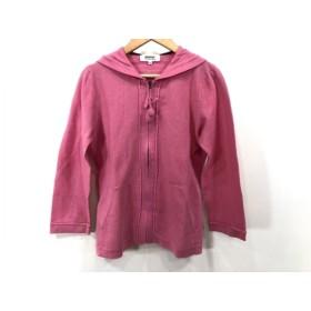 【中古】 ソニアリキエル SONIARYKIEL パーカー サイズ32 XS レディース ピンク