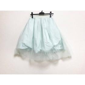 【中古】 フレイアイディー FRAY I.D スカート サイズ0 XS レディース ライトブルー