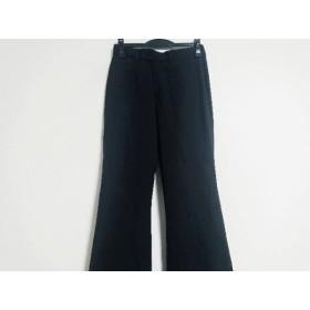【中古】 ニジュウサンク 23区 パンツ サイズ38 M レディース 美品 黒
