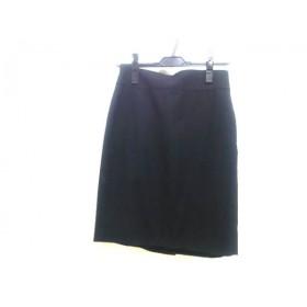 【中古】 バナナリパブリック BANANA REPUBLIC スカート レディース ブラック