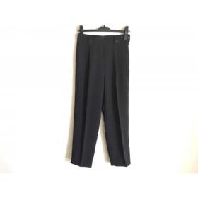 【中古】 バレンザポースポーツ VALENZA PO SPORTS パンツ サイズ40 M レディース 黒 ダークブラウン