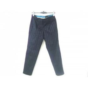 【中古】 トゥモローランド パンツ サイズ36 S レディース ダークネイビー collection/ストライプ