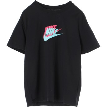 NIKE women's ナイキ ウィメンズ フューチュラ BOY S/S Tシャツ ランニング・トレーニングウェア,ブラック