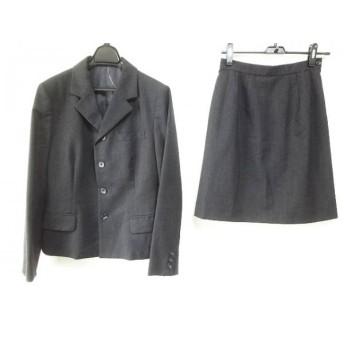 【中古】 ジェイプレス J.PRESS スカートスーツ サイズ11 M レディース ダークグレー