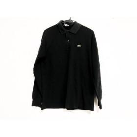 【中古】 ラコステ Lacoste 長袖ポロシャツ サイズ3 L メンズ 黒