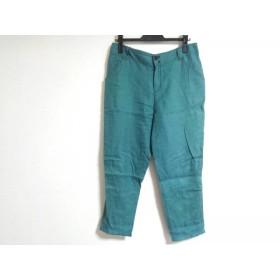 【中古】 ホコモモラ JOCOMOMOLA パンツ サイズ40 XL レディース グリーン