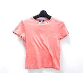 【中古】 バーバリーブルーレーベル Burberry Blue Label 半袖Tシャツ サイズM M レディース オレンジ