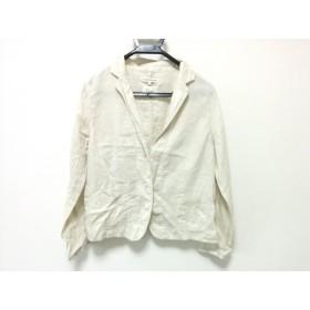 【中古】 マリンフランセーズ LAMARINEFRANCAISE ジャケット サイズ2 M レディース アイボリー