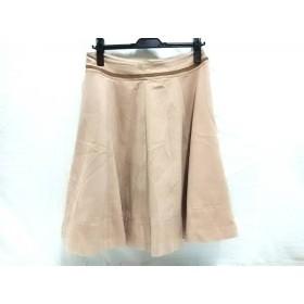 【中古】 ミミ&ロジャー mimi & roger スカート サイズ1 S レディース ベージュ