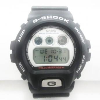 【中古】カシオ CASIO 腕時計 美品 G-SHOCK DW-6900WF メンズ シルバー