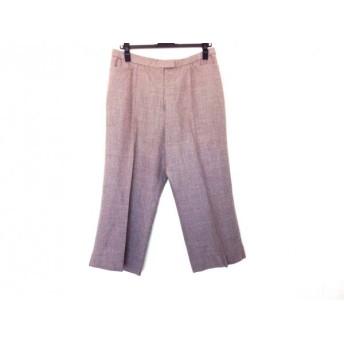 【中古】 レリアン Leilian パンツ サイズ13+ S レディース グレー