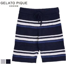 (ジェラートピケ オム)GELATO PIQUE HOMME メンズ 'スムーズィー'ハーフパンツ ジェラピケ ルームウェア パジャマ