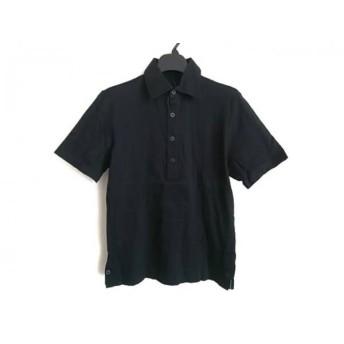 【中古】 セオリー theory 半袖ポロシャツ サイズ36 S レディース 黒