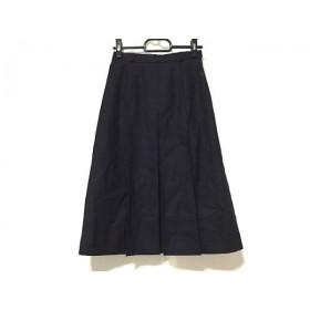 【中古】 バーバリーズ Burberry's スカート レディース ダークネイビー