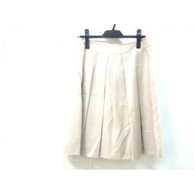 【中古】 ナチュラルビューティー ベーシック スカート サイズM レディース ベージュ