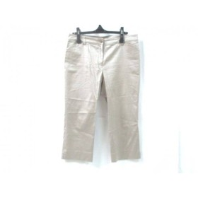 【中古】 ナチュラルビューティー NATURAL BEAUTY パンツ サイズ15 L レディース ベージュ