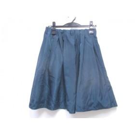 【中古】 アダムエロペ Adam et Rope ミニスカート サイズ38 M レディース ネイビー