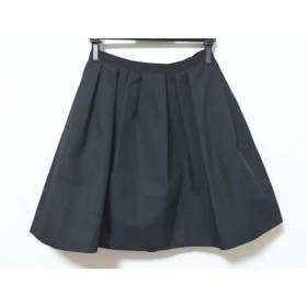 【中古】 ブルーレーベルクレストブリッジ BLUE LABEL CRESTBRIDGE スカート サイズ38 M レディース 黒