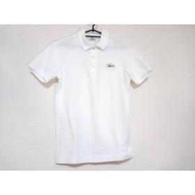 【中古】 ラコステ Lacoste 半袖ポロシャツ サイズ2 M レディース 白