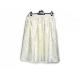 【中古】 ニジュウサンク スカート サイズ38 M レディース 美品 アイボリー Vingt-trois arrondissements