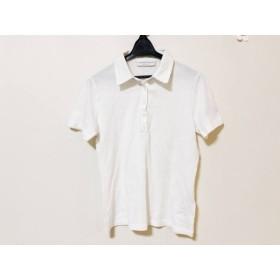 【中古】 ファビアーナフィリッピ FABIANA FILIPPI 半袖ポロシャツ サイズL レディース 白