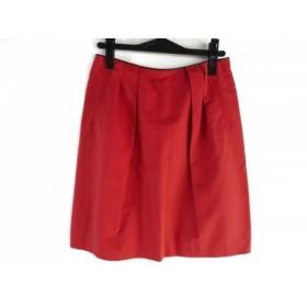 【中古】 トゥモローランド TOMORROWLAND スカート サイズ38 M レディース オレンジ