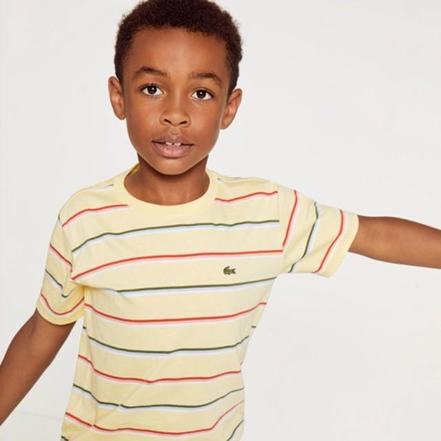 BOYSマルチカラーボーダーTシャツ