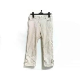 【中古】 ギャラリービスコンティ GALLERYVISCONTI パンツ サイズ2 M レディース ピンク リボン