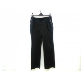【中古】 バーバリーゴルフ BURBERRYGOLF パンツ サイズ11 M レディース 黒