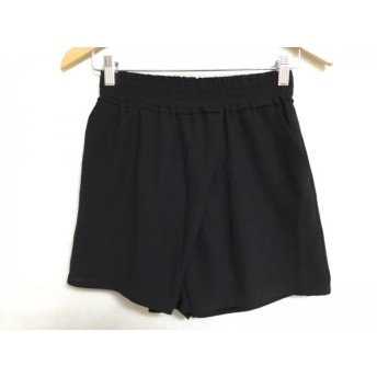 【中古】 ダブルスタンダードクロージング DOUBLE STANDARD CLOTHING ショートパンツ レディース 黒
