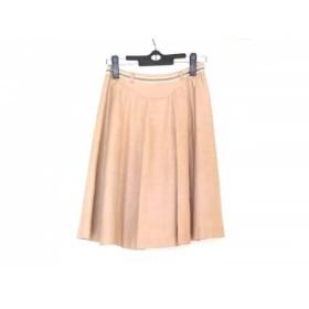 【中古】 クリスタルシルフ CrystalSylph スカート サイズ36S レディース ベージュ ブラウン 白