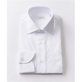 [シャツ]ダブルエイチ ドレスシャツ HH7A-W-003 ホワイトドビー 41-86