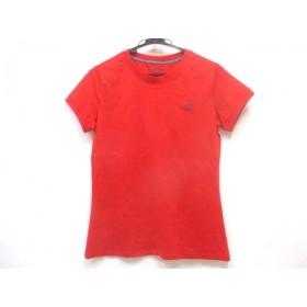 【中古】 ノーブランド 半袖Tシャツ サイズM レディース レッド ネイビー