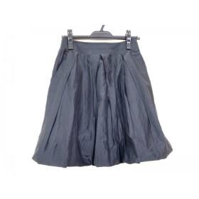 【中古】 アプワイザーリッシェ Apuweiser-riche スカート サイズ1 S レディース 黒 プリーツ