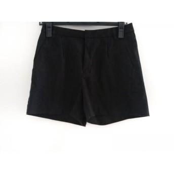 【中古】 ヴィス VIS ショートパンツ サイズS レディース 黒