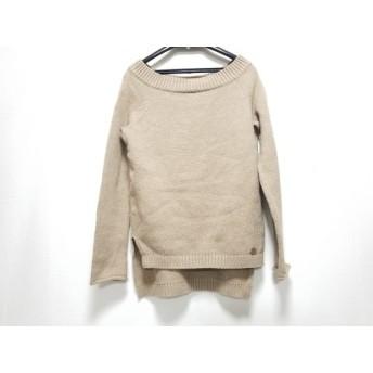 【中古】 デイジーリン DAISY LIN 長袖セーター サイズ38 M レディース ベージュ