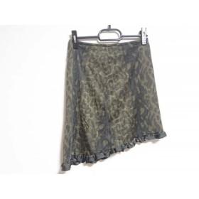 【中古】 イザベルマラン ISABEL MARANT スカート サイズ1 S レディース グレー 黒