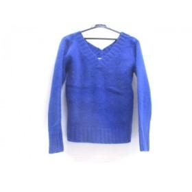 【中古】 ボッシュ BOSCH 長袖セーター サイズ38 M レディース ブルー