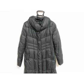 【中古】 アンタイトル UNTITLED ダウンコート サイズ2 M レディース 黒 冬物