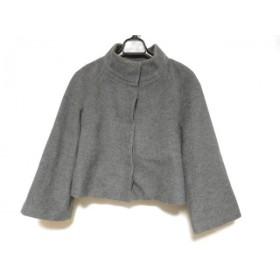 【中古】 アナイ ANAYI コート サイズ38 M レディース グレー ショート丈/冬物