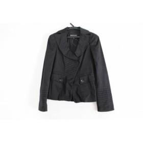 【中古】 エンポリオアルマーニ EMPORIOARMANI ジャケット サイズI36 S レディース 黒 肩パッド