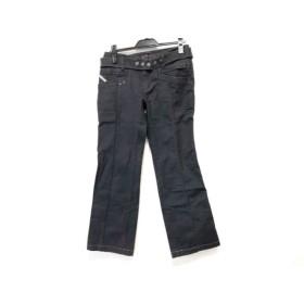 【中古】 ディーゼル DIESEL パンツ サイズ29 XL レディース 黒