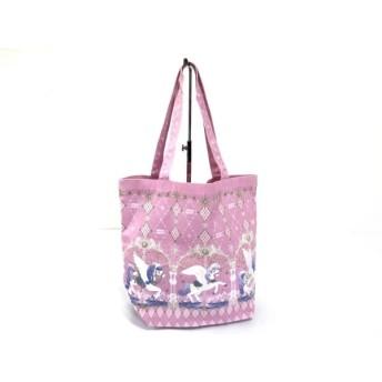 【中古】 アンジェリックプリティ Angelic Pretty トートバッグ ピンク マルチ キャンバス
