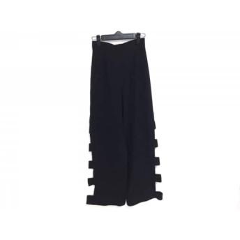 【中古】 シビラ Sybilla パンツ サイズ63-90 レディース 黒