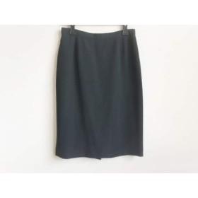 【中古】 アニエスベー agnes b スカート サイズ40 M レディース 黒
