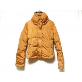 【中古】 マックスマーラウィークエンド ダウンジャケット サイズ40 M レディース ブラウン 冬物